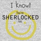 SHERLOCK: I know! You're SHERLOCKED too. by morigirl