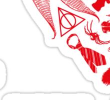 I <3 JKR Sticker
