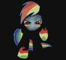 Rainbow dash darkness by krissipo