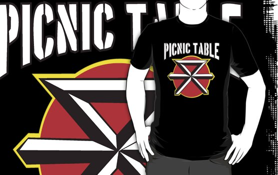 Dead Kennedys Picnic Table T-Shirts & Hoodies by OBEY ZOMBIE | RedBubble