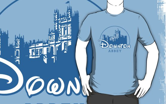 The Wonderful World of Downton Abbey (Downton Abbey + Disney logo mashup) by rydrew