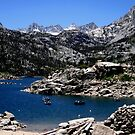Lake Of The Sierras by marilyn diaz