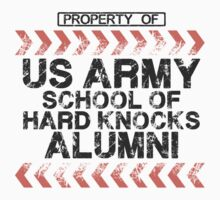 School of Hard Knocks - Army - Light Colors Kids Clothes