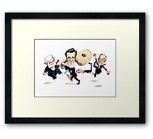 Mitt Romney Wins Republican Nomination Framed Print
