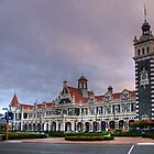 Dunedin Railway Station by Christine Smith