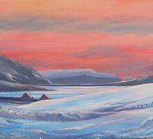 Colours Of Winter, Shetland by Redbarron
