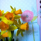 Daffodils and a Jar by CrystalFanning