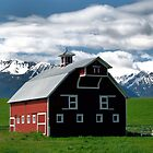 The Red Barn of Wallowa County   by Don Siebel