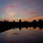 Sunrise Over Angkor Wat by Rob Steer