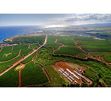 Aerial View of Southwest Kauai Photographic Print