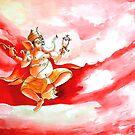 Ganesha Dancing ....... by Ayan Ghoshal