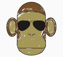 Aviator Monkey by mrmoustache