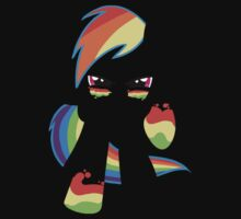 Rainbow dash darkness [Without face] by krissipo