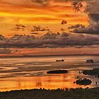 Pohnpei sunset by John Marelli