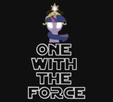 One with the force [twilight sparkle] [white text] by wittlewoona
