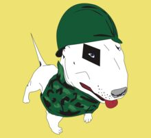 are you searching a military bull terrier? by 2piu2design