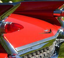 Cadillac Fleetwood Tailfins.  by Mark  Spowart