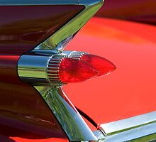 Cadillac Fleetwood Tailfins.  by Mark  Spowart