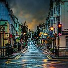 Wet Morning in Kemp Town by Chris Lord