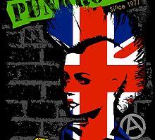 Punkrock - Union jack mohawk by Bela-Manson