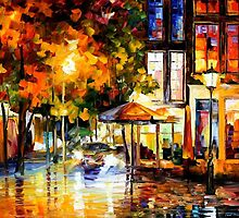 THE WINDOWS OF AMSTERDAM - OIL PAINTING BY LEONID AFREMOV by Leonid  Afremov