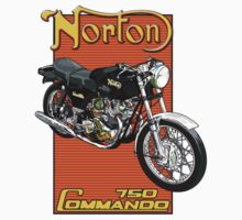 Norton Commando 750 Kids Clothes