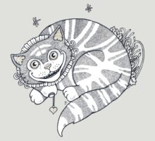 The Cheshire Grins (T-shirt) by Anita Inverarity