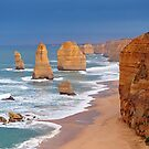 Twelve Apostles. Port Campbell National Park, Victoria, Australia. by Ralph de Zilva