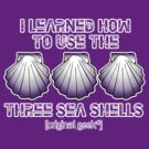 I learned how to use the three sea shells.... Dark Colors by [original geek*] clothing