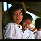 Schoolboys, Thailand by Rob Steer