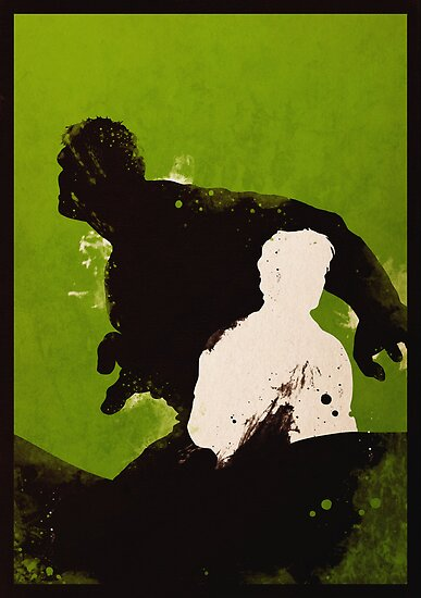 The Hulk [minimalist poster] by finnickodair