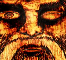 Norse God ODIN Sticker