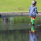 Walking on Water by KUJO-Photo