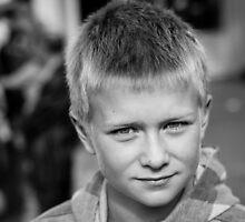 Kjartan Helgi - Black and white by Ólafur Már Sigurðsson