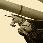 HMS Unicorn Series - Unicorn in Sepia by kalaryder