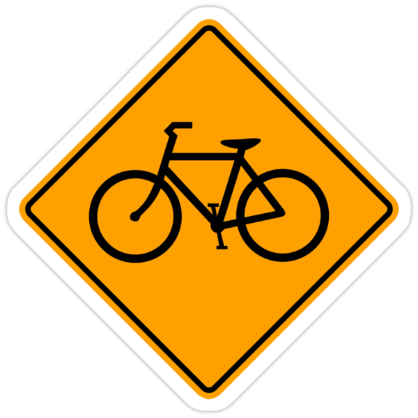 Bicycle Sign by SignShop