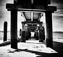 Shoal bay pier hdr 2 by jubrok