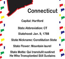 Connecticut Information Educational by ValeriesGallery
