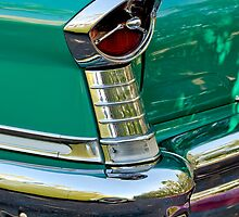 1957 Oldsmobile 98 Starfire Convertible Taillight by Jill Reger