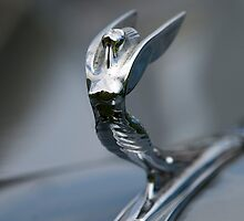 1936 DeSoto Airstream Hood Ornament by Jill Reger