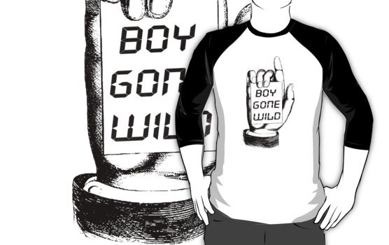 Boy Gone Wild Vintage T-Shirt by Denis Marsili