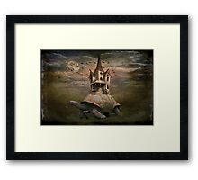 Moonlight traveler Framed Print