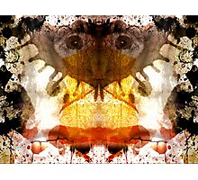 Rorschach ~ A Self Portrait Photographic Print
