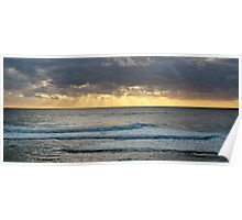 Sunset off Prevelly Beach, Western Australia Poster