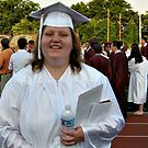 Words Can Not Express - My middle daughter who has special needs graduates from regular high school with the regular students, June 20, 2012 by Jane Neill-Hancock
