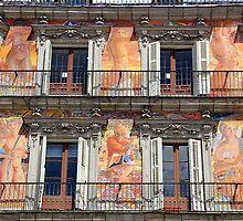 Memories of Spain 14 - Plaza Mayor by Igor Shrayer