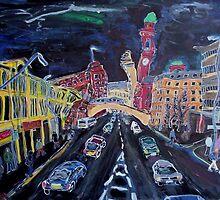 Oxford Street by steadyeddie