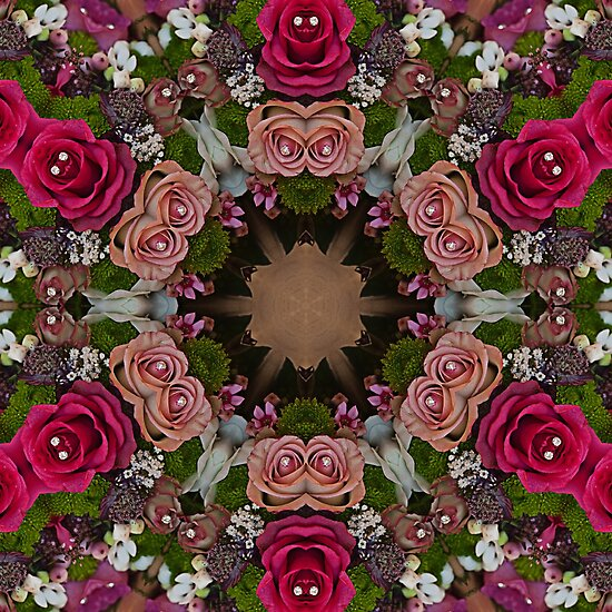 Kaleidoscope Summer Bouquet by Gillian Cross
