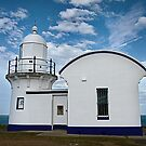 Tacking Point Lighthouse  ~  Port Macquarie NSW by Rosalie Dale