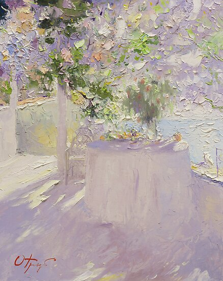 On the Terrace by Oleg Trofimoff